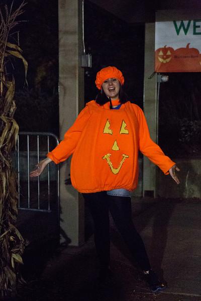 <center>Pumpkin Greeter  <br><br>Roger Williams Park<br>Providence, Rhode Island</center>