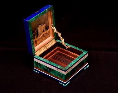 Intarsia boxes