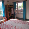 Other view of our bedroom; decor still needs some work