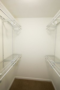 New shelving and paint MBR Closet