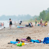 The Beach at Lakeport State Park, Lake Huron, about 10 miles north of Port Huron.