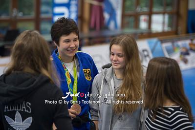 BuLi Frauen Großhadern Leipzig 2016 Laura Rio Medaille, Laura Vargas Koch_BT_NIKON D4_20160917__D4B0184