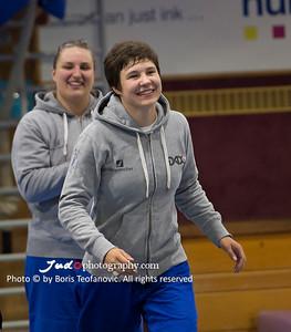 BuLi Frauen Großhadern Leipzig 2016 Laura Rio Medaille, Carolin Weiß, Laura Vargas Koch_BT_NIKON D4_20160917__D4B0490