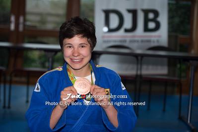 BuLi Frauen Großhadern Leipzig 2016 Laura Rio Medaille, Laura Vargas Koch_BT_NIKON D4_20160917__D4B0210