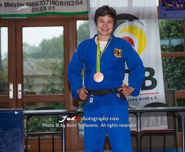 BuLi Frauen Großhadern Leipzig 2016 Laura Rio Medaille, Laura Vargas Koch_BT_NIKON D4_20160917__D4B0197