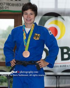 BuLi Frauen Großhadern Leipzig 2016 Laura Rio Medaille, Laura Vargas Koch_BT_NIKON D4_20160917__D4B0232