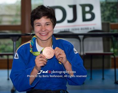 BuLi Frauen Großhadern Leipzig 2016 Laura Rio Medaille, Laura Vargas Koch_BT_NIKON D4_20160917__D4B0226
