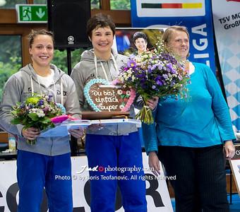 Amelie Stoll, BuLi Frauen Großhadern Leipzig 2016 Laura Rio Medaille, Frauke Vortmann, Laura Vargas Koch_BT_NIKON D4_20160917__D4B0965