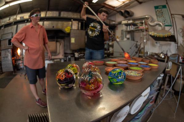 Liquid Light Glass Studio, Santa Fe