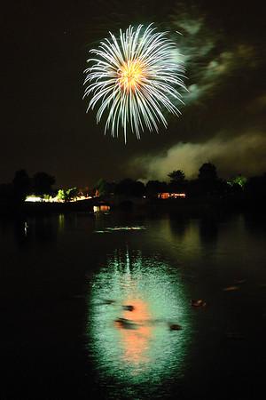 "Fireworks at Lisle, Illinois ""Eyes To The Skies"" Celebration - 2011"