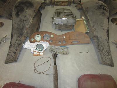 Parts - Dash, Wings, Radiator