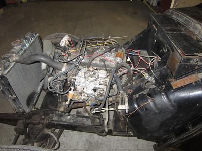 Engine Left Side