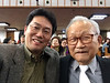 With retired Yonsei professor, Dr. Cho Sung-Kyu (Homer)