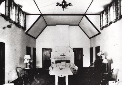 Interior view of Cottage at Buttermilk Falls