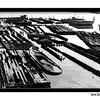 Boat Graveyard, Elizabeth River, Porstmouth, Virginia, 1982.
