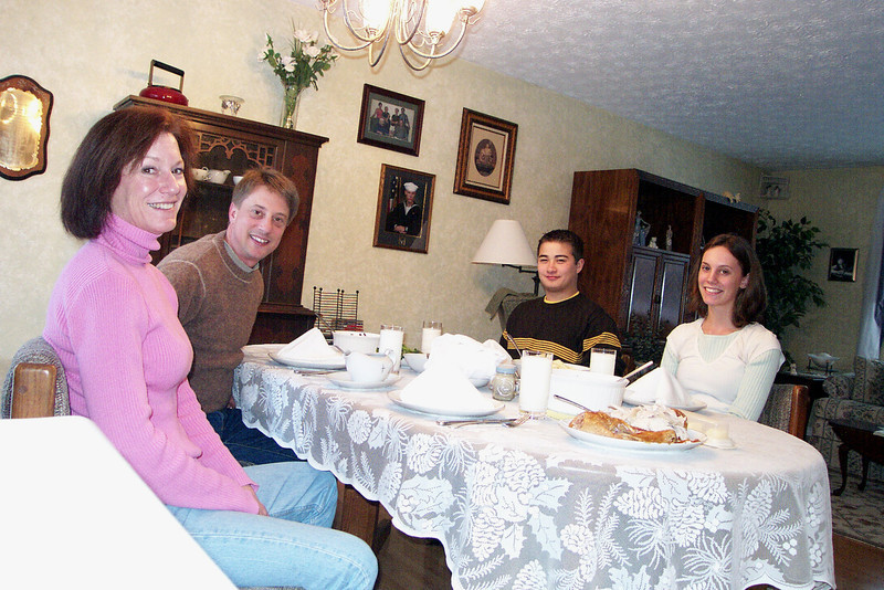 Thanksgiving Dinner, 2005.