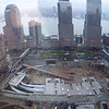 Ground Zero, NY, NY.  From the 45th floor of the Millenium Hilton.  Summer, 2004