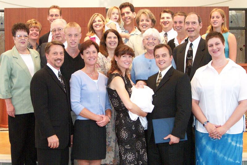 Emma's Baptism, Summer, 2002