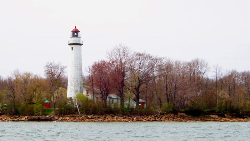Presque Isle Lighthouse, Lake Huron.