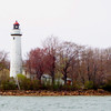 Presque Isle Lighthouse, Lake Huron.