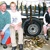 A good day's fishing, Spring, 2002.