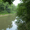 Trinity River - Greenbelt trail in Lake Ray Roberts State Park - July 18, 2005