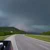 Tornado chasin' - 'Anvil' spotted in Mineral Wells, TX on April 30, 2004.