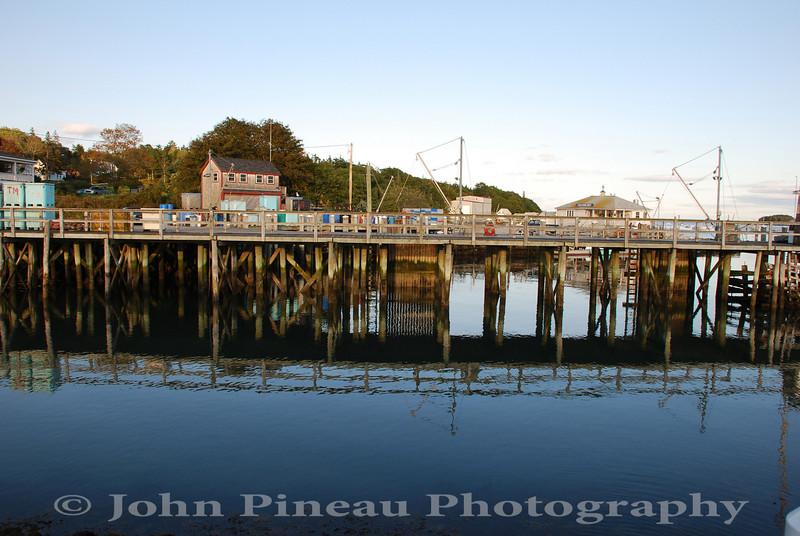 Tenants Harbor Wharf - Tenants Harbor, Maine