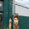 Fence Faces - Belfast, Maine