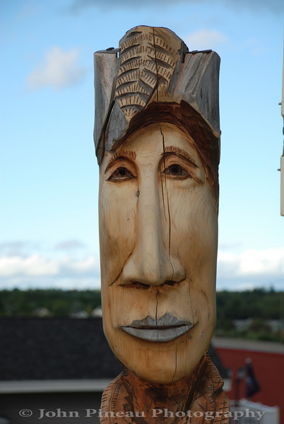 Fence Face - Belfast, Maine