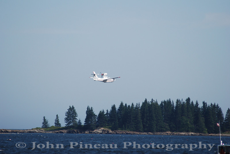 Seaplane takeoff - Owls Head, Maine