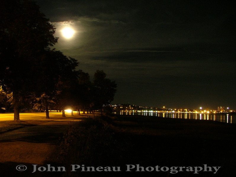 Back bay by night - Portland, Maine