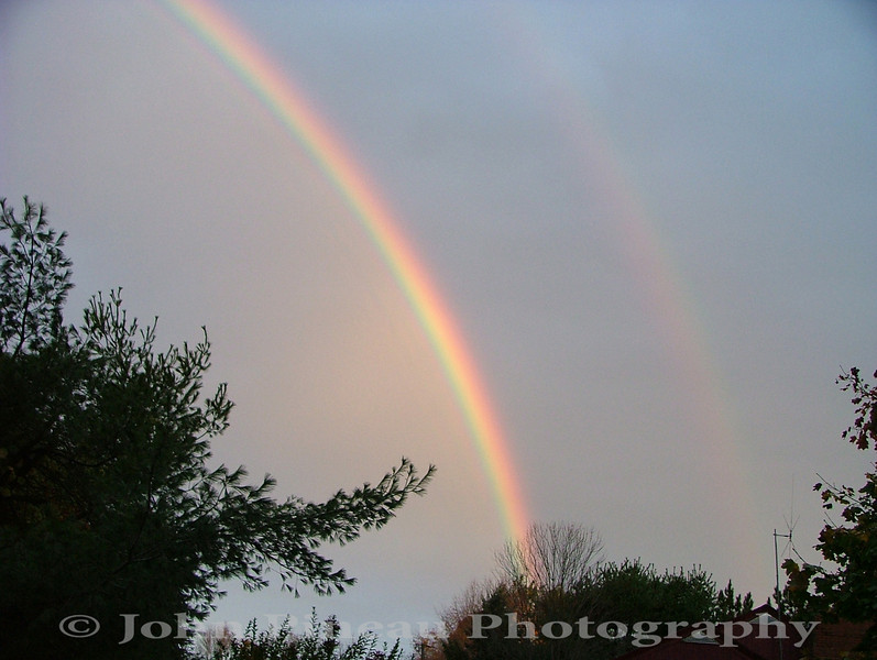 Double Rainbow - Gorham, Maine