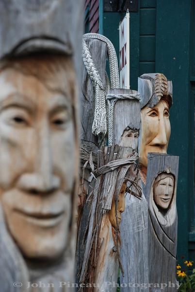 Fence Face - Belfast, Maine