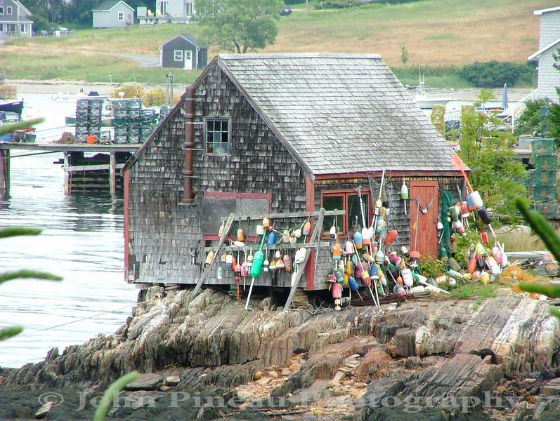 Lobster Buoy Shack - Orrs Island, Maine