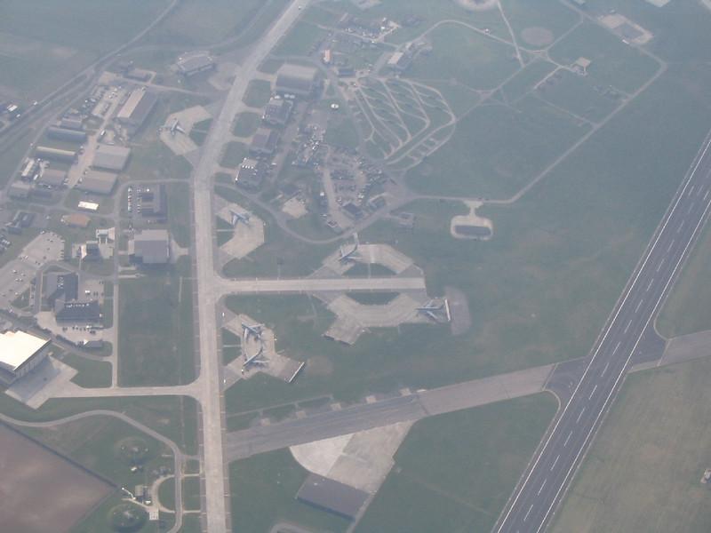 B-52's at lakenheath from 7,000ft