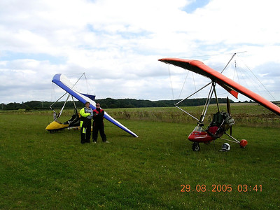Isaac and Peter Bolton at Stoke in 2006.