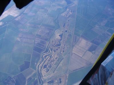 10,000 ft (2 miles!) over the Cambridgeshire Fens
