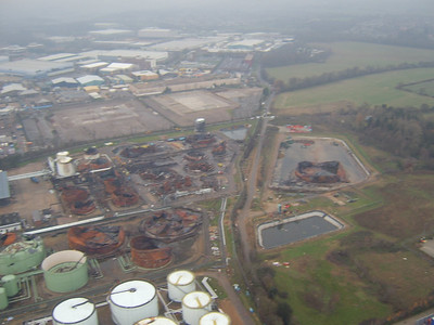 Buncefield From The Air
