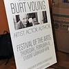 Actor Burt Young at West Hempstead Art Workshop