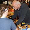 Actor Burt Young at West Hempstead Art Workshop