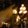 The steam clock in Gastown. Very Xmas-cardy.