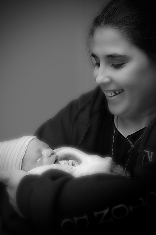 My Wife and First Grandchild<br /> Only 1 hour old!