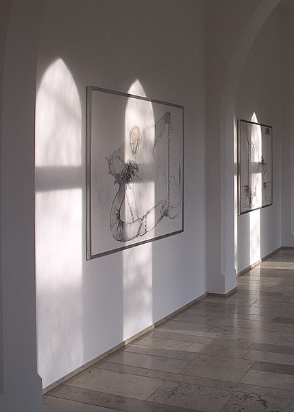 Light, windows, paintings