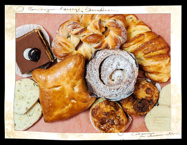 Pastries from the Swedish Crown Bakery