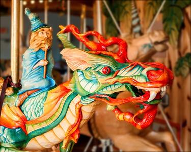 Carousel carving 2 - Lark Toys