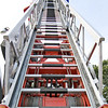Ladder of a fire engine