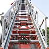 Ladder of a fire engine