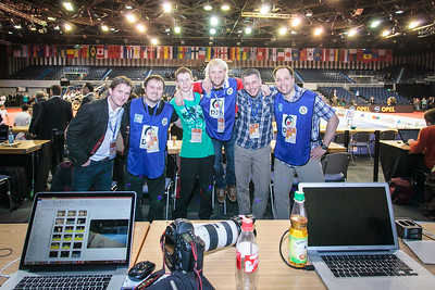 best Photography Crew at Judo Grand Prix 2015 Düsseldorf... mia san mia