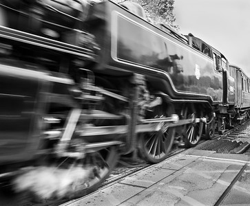 Locomotive 80136 out of Pickering Station - North Yorkshire UK 2018